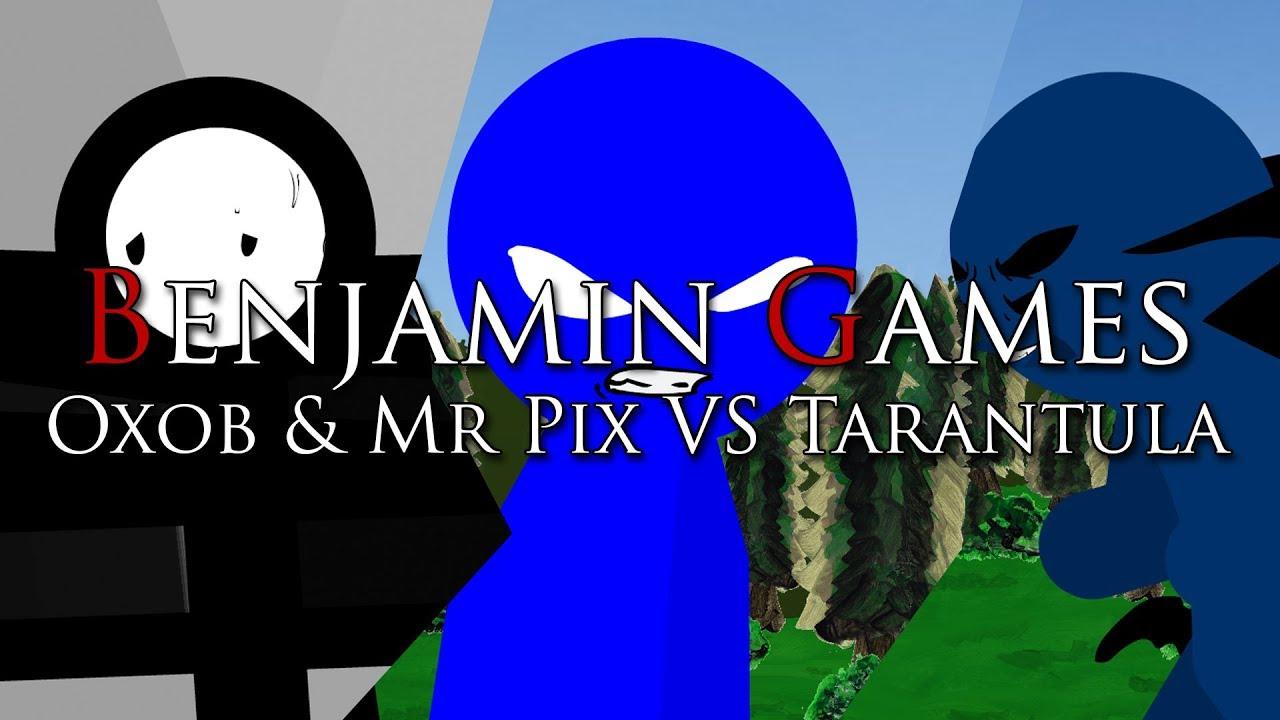 Oxob&Mr Pix VS Terantula