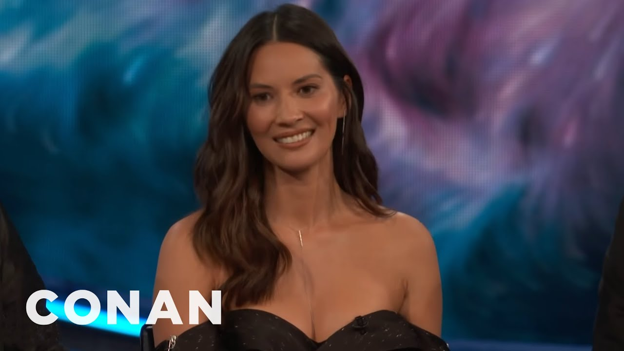 The Predator - Olivia Munn On Conan