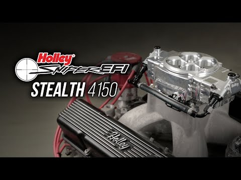 Holley EFI Sniper Stealth 4150