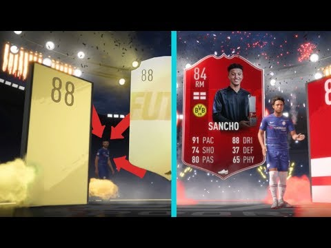 84 SANCHO A 88 RATING WALKOUT HRÁČ! [FIFA 19 PACK OPENING]