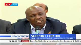 Support for BBI: Senator Moi says handshake healed the country
