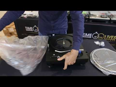 NEW Technics SL-1210GR Turntable – Unboxing & Review (2017) DJ Patty E