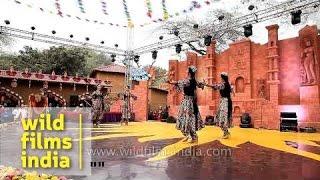 Dancers of Uzbekistan perform in India