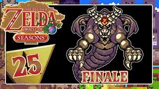 Final Boss Onox Battle 🗡️ THE LEGEND OF ZELDA ORACLE OF SEASONS Part 25 [ENDE]