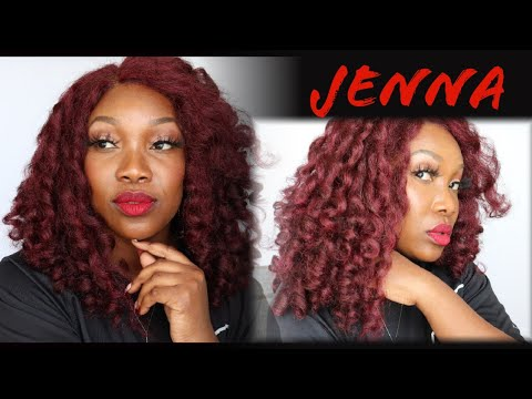 Whats the HYPE about this JENNA wig from Janet Collection| Can a 99j work?| BEGINNER friendly