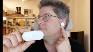 Microsoft Surface Earbuds Test Fazit nach einer Woche
