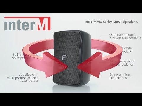 Inter-M WS Series Full Range Music Speakers