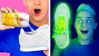 COOLEST CLOTHES HACKS FOR BOYS || Testing Awesome DIY Ideas For Your Amazing Look By 123 GO! BOYS