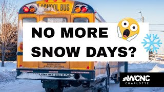Will snow days be a thing of the past due to virtual learning?