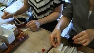 『陶と香のかやぬま』体験「匂い袋」づくり」