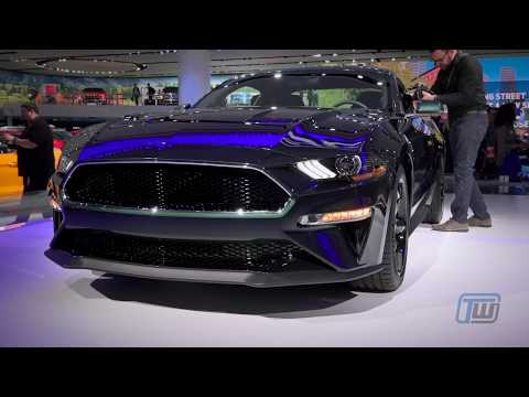 Ford Mustang Bullitt at the 2018 NAIAS
