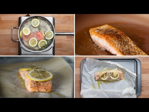 Video 4 Ways To Cook Salmon