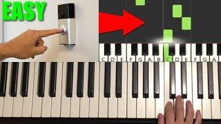 How To Play the Default Doorbell Sound Effect on Piano