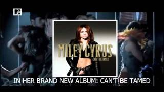 Miley Cyrus Spotlight MTV EMA 2010