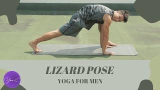 YOGA FOR MEN | LIZARD POSE ✨ GET FIT #60