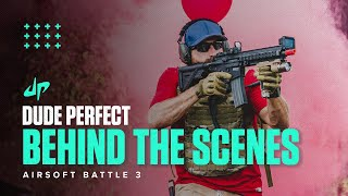 Airsoft Battle 3 (Behind The Scenes) | Dude Perfect Plus