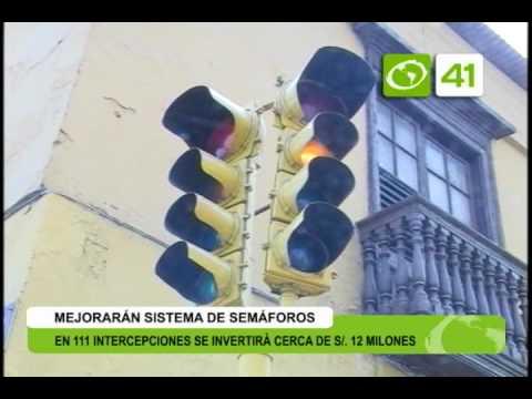 Municipalidad mejorará sistema de semáforos - Trujillo
