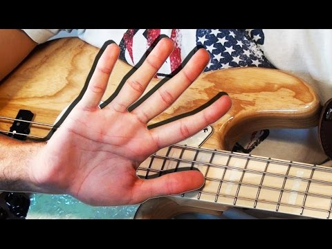ONE HAND BASS SOLO