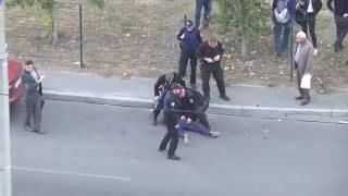 Смотреть онлайн Как в Украине задерживают преступников на улице