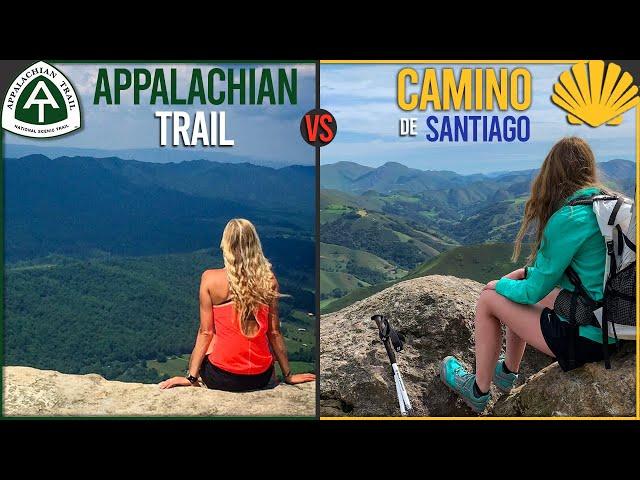 The Appalachian Trail vs The Camino de Santiago