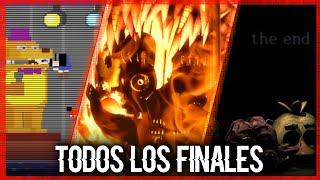 ANÁLISIS   Todos Los Finales   Five Nights At Freddy's (2014 - 2018)