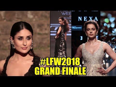 Best Of Lakme Fashion Show 2018   #LFW GRAND FINALE   Kareena Kapoor, Kangana, Malaika Arora Khan