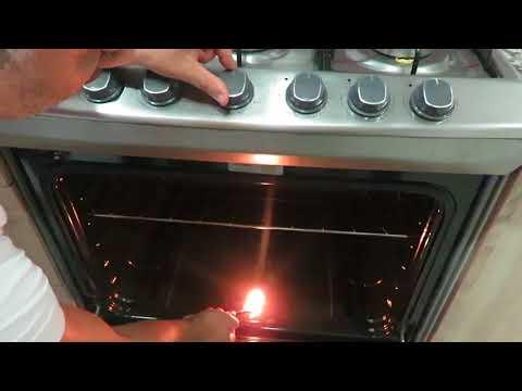 🔥 Como prender el horno de Gas en una Estufa. Encender es MUY SENCILLO 🔥