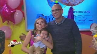 El Pelón Ramos felicita a su esposa