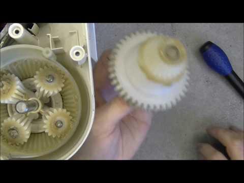 Kenwood kitchen mixer teardown