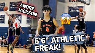 """6'6"""" Andre Jackson Will Put Anyone On A POSTER! Athletic Freak WALKS ON AIR! 🤮"""