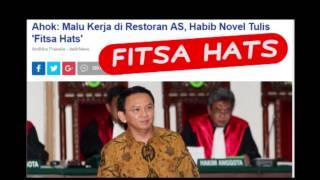 Ahok Fitsa Hats Habib Novel