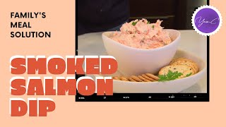 EASY RECIPE FOR SMOKED SALMON DIP ✨ EAT WELL #36