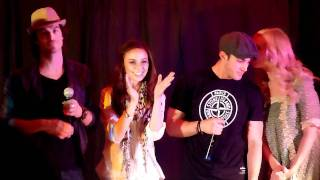 Малез Джоу, The Vampire Diaries cast saying goodbye at the Mystic Love convention.