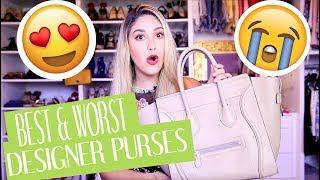 Best & Worst Designer Purses | GoYard  | YSL  | Celine | Chloe | Louis Vuitton Review