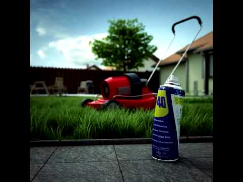 WD-40® Multi-Use Product Keeps Lawn Mowers Working Smoothly