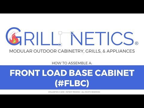 How to Build a Grillnetics Storage Cabinet