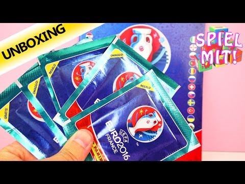 PANINI EURO 2016 PACKS Unboxing - Starter Packs? - EM 2016 Sammelheft