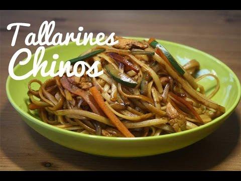 TALLARINES CHINOS | RECETA ORIENTAL