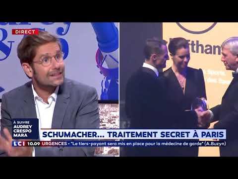 Michael Schumacher hospitalisé à Paris : l'éclairage du Dr Kierzek Michael Schumacher hospitalisé à Paris : l'éclairage du Dr Kierzek