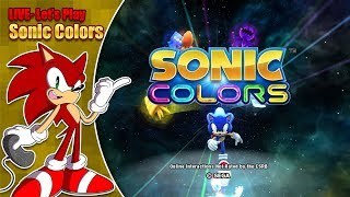 Let's play Sonic Colors - LIVE - Saturday 10th November 7pm GMT