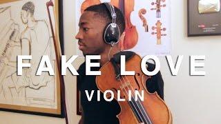 Drake  Fake Love Violin Remix By Eric Stanley