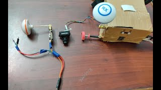 How to connect fpv transmitter to fpv camera | how to setup fpv