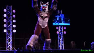 Anthrocon 2014 - Fursuit Dance Competition - Kotto