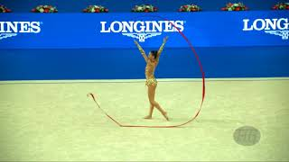 VLADINOVA Neviana (BUL) - 2017 Rhythmic Worlds, Pesaro (ITA) - Qualifications Ribbon