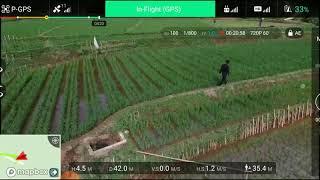 Dji phantom 3 advaced test terbang batre 2 bagian B