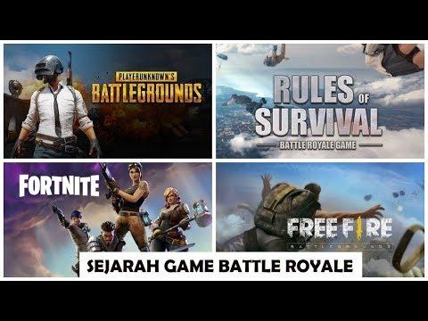 Sejarah Game Battle Royale Pubg Fortnite Free Fire Rules Of