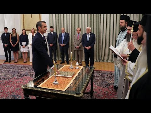 Ορκίστηκε πρωθυπουργός της Ελλάδας ο Κυριάκος Μητσοτάκης…