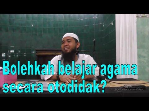 Video Al-Ustadz Allmanazil Billah | Bolehkah belajar agama secara otodidak?