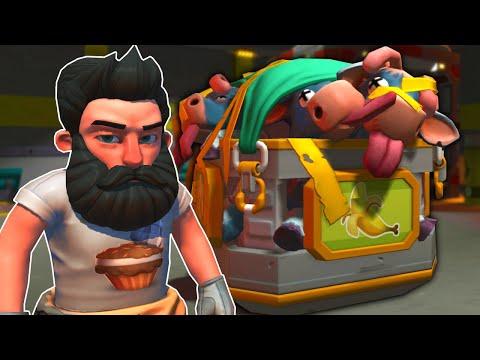 Spycakes & I Found Some Dark Secrets in the Farmbot Factory! - Scrap Mechanic Survival Multiplayer