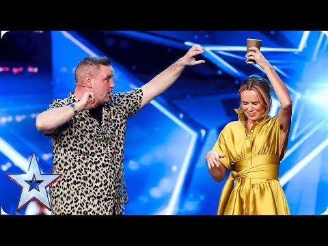 It's now or never for funny man Graeme | Auditions | BGT 2019 (видео)